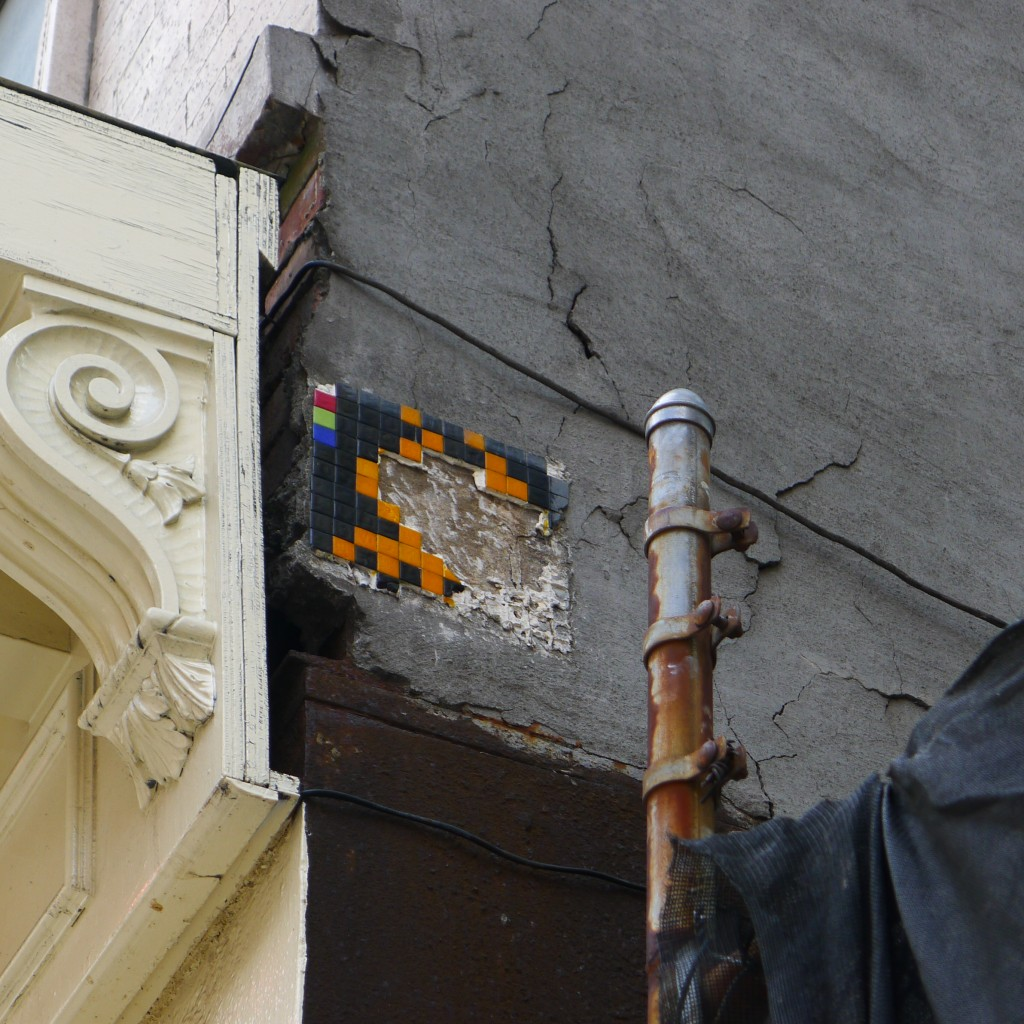 Space Invader: Street Art Defaced